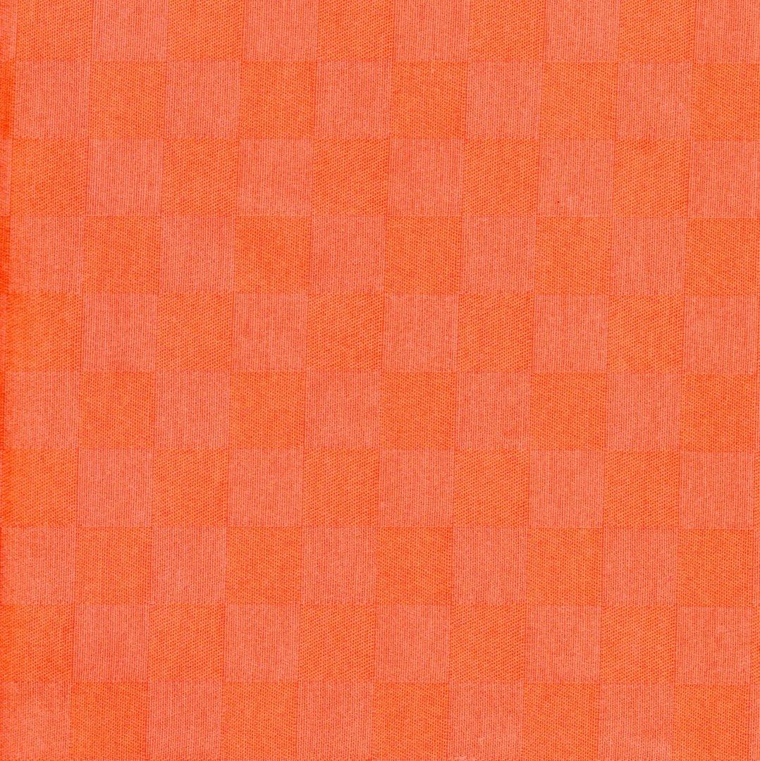 beschichtete baumwolle karo orange meterware sch ner wohnen preckel. Black Bedroom Furniture Sets. Home Design Ideas